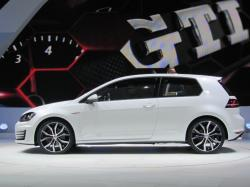 ... Volkswagen GTI 'concept' launch at Paris Motor Show, September 2012 ...