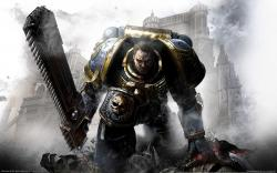 Warhammer 40000: Space Marine wallpaper 2560x1600.