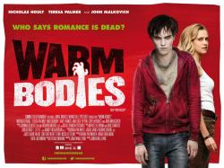 "Movie poster for the film adaption of ""Warm Bodies"""