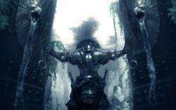 Warrior open gates
