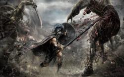Warriors Movie Wallpaper — Stock Image