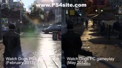 Watch Dogs 02/13 PS4 VS 05/13 PS4 VS 05/12 PC