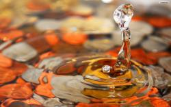 ... Colorful Water Drops Wallpaper 01 ...