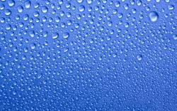 ... blue-water-drops