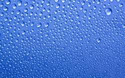... blue-water-drops