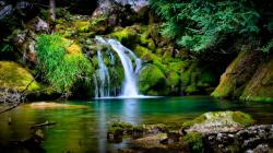 High definitio... Waterfall Backgrounds ...