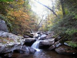 Autumun Waterfall Hills Creek