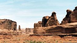 Western Rock Wallpaper Desert Scenic Free Desktop Background 1920x1080px