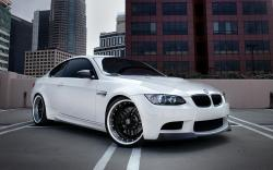 """Download the following White BMW Wallpaper 32588 by clicking the orange button positioned underneath the """"Download Wallpaper"""" section."""