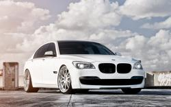 White BMW