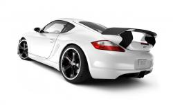 White car on white background