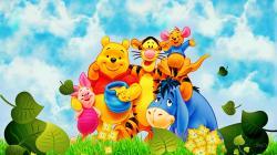 ... Winnie-The-Pooh-Friends ...