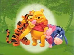 """Winnie the Pooh"" desktop wallpaper number 2 (1024 x 768 pixels)"