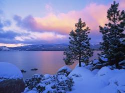 Nature-Sea Beautifull Winter Wallpaper-wallpaper