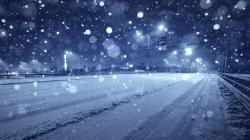 Winter Freeway Wallpaper