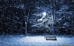 Wallpaper: Beautiful winter night wallpapers. Resolution: 1024x768 | 1280x1024 | 1600x1200