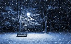Winter Night High Resolution Backgrounds