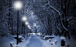 Romantic Winter Wallpaper: Wallpapers for Gt Romantic Winter Night Wallpaper 2560x1600px
