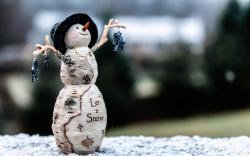 Winter Snowman Toy
