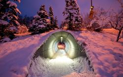 Winter Underpass
