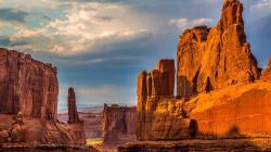 Wonderful Desert Monuments Hd Desktop Background HD wallpapers