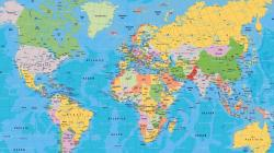 ... World map wallpaper 2560x1440 ...