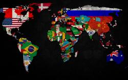 ... World Map Wallpaper ...
