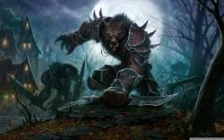 Wow Cataclysm Worgen HD Wide Wallpaper for Widescreen