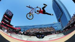 Four-time X Games gold medalist Daniel Dhers is part of a contingent of BMX