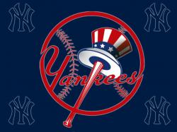 New York Yankees Logo Free Desktop Wallpaper