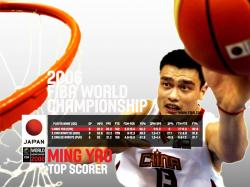 Yao Ming WC 2006 Wallpaper