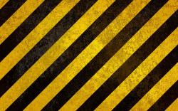 Yellow black strips