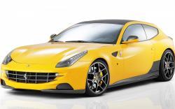 Car Ferrari Yellow Sport Sportscar Widescreen wallpaper