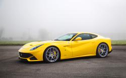 Yellow ferrari f12