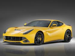 Car-wallpapers-Yellow Ferrari F12 Berlinetta-wallpaper