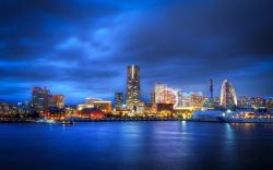 Yokohama Skyline Japan