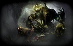 Yorick League of Legends fantasy dark monsters creatures scary wallpaper background