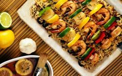 Food Wallpaper: Outstanding Yummy Sea Food Wallpaper 1280x800px
