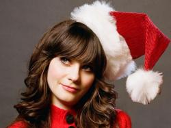Zooey Deschanel Christmas