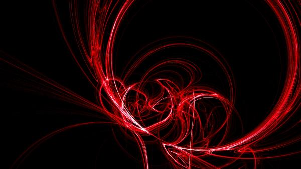 Abstract wallpapers red